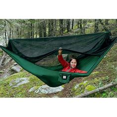 Hammock Bliss No-See-Um No More Green - One Size