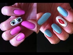 """This Flirty Eyes and Lips Nail Art was inspired by Kate Spade designs and is fun and corky just like them. Hope you'll love this cute manicure and will enjoy wearing it!  Please share and """"Like"""" this tutorial, leave your comments and thoughts and subscribe for future Elenza_LAStyle videos. Thanks for watching!    Products that were used:  - Sephora ..."""