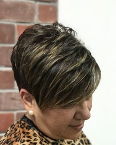 Pixie cut from last week.After her daughters wedding she was ready for a change and short trendy hair has always been her style.♥️ #nothingbutpixies#shewearsitwell #shorthairdontcare#miamistylist#innovationshaircuttersalon