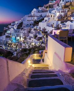 "Living Europe (@living_europe) on Instagram: ""Walking through the charming alleys ~ Oia, Santorini, Greece Photo: @lukarn_ Wonderful! TAG…"""