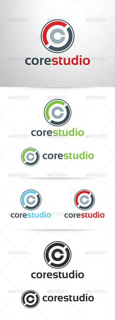 Core Studio - Letter C Logo. Something similar but more in line with my current logo