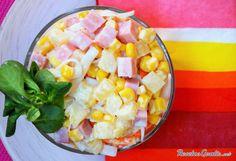 Aprende a preparar ensalada tropical de piña con esta rica y fácil receta.  Durante la época de verano lo que triunfan son las recetas frescas y ligeras. Una de ella...