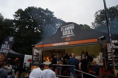 #Liverpool #Food and #Drink #Festival Flaming Grill