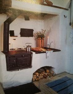 Old Cottage, Cottage Living, Cottage Design, House Design, Interior Architecture, Interior Design, A Frame House, Moving House, Home Kitchens