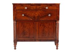Mahogany Empire Sideboard / Server : EBTH