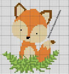 Cross Stitching, Cross Stitch Embroidery, Cross Stitch Designs, Cross Stitch Patterns, Pixel Pattern, Cross Stitch Animals, Pin Cushions, Crochet Baby, Tapestry