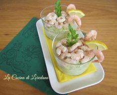crema di zucchine con gamberetti