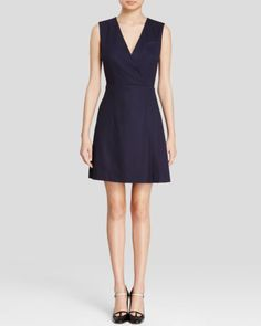 Tory Burch Stretch Wool Suiting Dress   Bloomingdales's