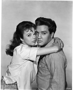 """Elvis Presley and Anne Helm in """"Follow That Dream"""" (1962)."""