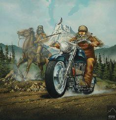 """""""Mountain Man"""" by David Mann"""