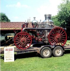 Restored Antique Steamer | Stoneham Fire Department MA http://setcomcorp.com/fire.html