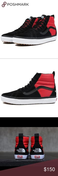 27d26f6d9417 Vans x The North Face Sk8-Hi 46 MTE DX Red Black Vans x The