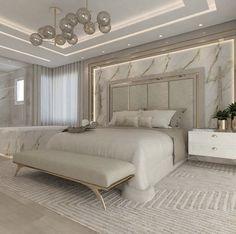 Modern Luxury Bedroom, Master Bedroom Interior, Luxury Bedroom Design, Modern Master Bedroom, Room Design Bedroom, Home Room Design, Luxury Home Decor, Luxurious Bedrooms, Bedroom Decor