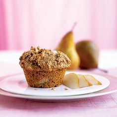 Pear Bran Muffins (South Beach)