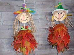 Autumn Crafts, Autumn Art, Nature Crafts, Autumn Activities, Craft Activities For Kids, Preschool Crafts, Holidays Halloween, Halloween Crafts, Diy For Kids