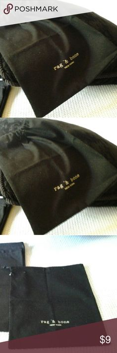 100% A.  RAG AND BONES DUST BAG Rag and bones New York dust bag rag & bone Accessories