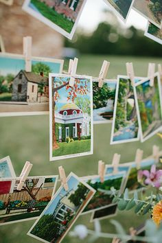 Have guests sign vintage postcards | 27 Travel-Inspired Wedding Ideas You'll Want To Steal