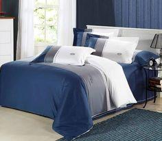 navy blue bedding