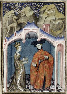 Illustrated works of Christine de Pizan by the Master of the Cite Des Dames, by Christine de Pisan, c. 1410-15