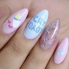 Cry baby Melanie Martinez nails