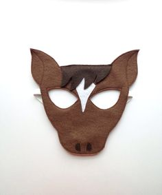 Horse Mask Tail by oppositeoffar on Etsy