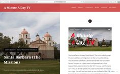 In case you missed our second installment of #SantaBarbaraWeek, where we explored the Santa Barbara Mission, check out our blog by clicking the link below. https://aminuteadaytv.com/2016/11/08/santa-barbara-the-mission/