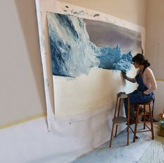 Chasing the Light: Iceberg Art by Zaria Forman | FreeYork