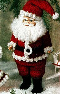 Santa Claus Doll Pattern