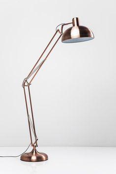 Vloerlamp koper woonkamer | Office vloerlamp koper - Kare Design