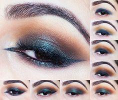 Tutorial de Maquiagem: Nu-grunge Metallic Green Smokey Eyes - Lime Crime Venus II Palette