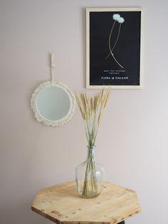 Lämmin ilo Mirror Table, Decor, Home Decor, Mirror