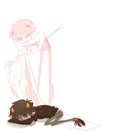 NO THIS IS NOT OKAY WHY do I keep seeing sadstuck I'm crying and I'm about to watch the reichenbach falls this is not good<<< I'm not even in the Sherlock fandom and I am so so sorry Homestuck Karkat, The Reichenbach Fall, Home Stuck, Mundo Geek, Its Okay, Troll, Cute Art, Creepy, Told You So