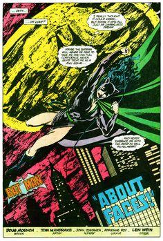 Duty or love?    —Batman (v1) #398