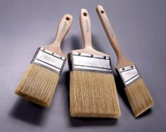 How to choose the right paintbrush...