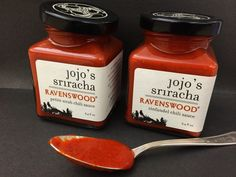Two new wine-infused #Sriracha sauces: a deliciously spicy collaboration from Jojo's Sriracha and Ravenswood Winery!