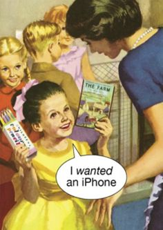 I wanted an i-phone - Simon Spicer Cards