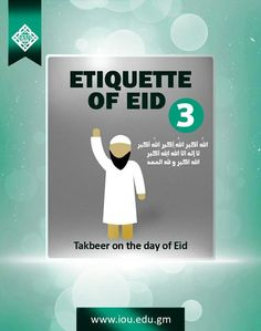 Etiquette of Eid: 3