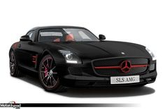 Mercedes SLS AMG Matt Edition