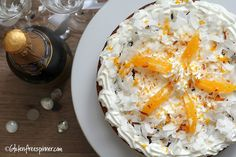 Gluten free Easter coconut orange cake...this poke cake will WOW! your guests!