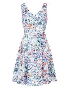 Wyatt print dress |
