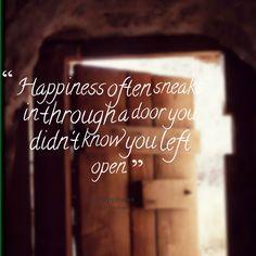 happiness often sneaks in - Google Search