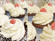 Romanttista Cupcakes, Desserts, Food, Tailgate Desserts, Cupcake, Deserts, Essen, Dessert, Muffin