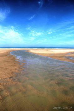 Beach at Conil de la Frontera, Andalusia_ Spain