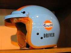 Gulf Driver Helmet, Retro-Classics, Stuttgart, Germany, 2015
