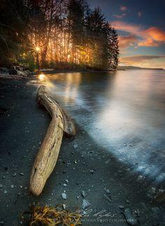 Sandy sunset - null