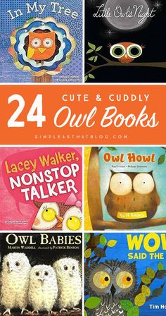 Cute and Cuddly Owl Books for Kids My kids adore owls! Who knew there were so many books about these fluffy, nocturnal birds!My kids adore owls! Who knew there were so many books about these fluffy, nocturnal birds! Owl Preschool, Preschool Books, Preschool Classroom, Owls Kindergarten, Classroom Teacher, Science Books, Classroom Resources, Classroom Ideas, Birds For Kids