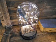 Firefly Lighted Cloche, 3 Sizes