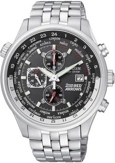 Citizen Red Arrows World Time Chronograph