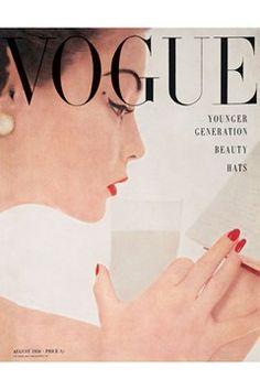 British Vogue August 1950