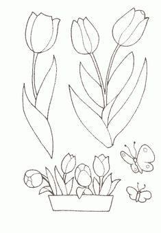 Flores | Desenho para Colorir . net
